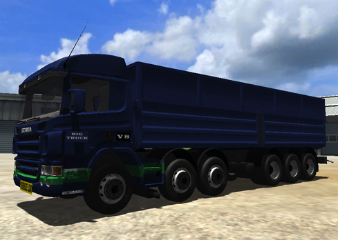 Scania R 500 Oversize Load v2