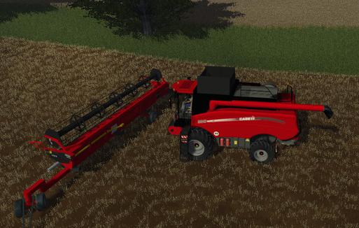 Case 8010 + Varicut 3050 + Schneidwerkswagen Multifruit Mod-Pack