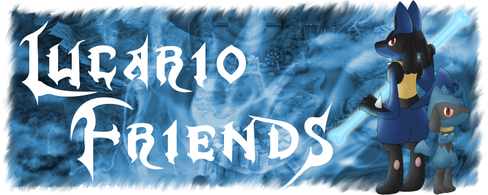Lucario-Friends